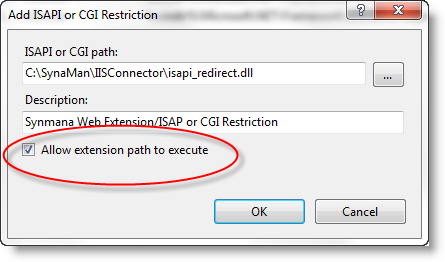 Execute ISAPI Extension