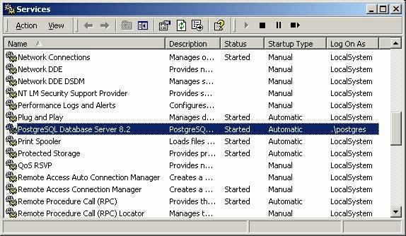 Connecting to PostgreSQL using ODBC